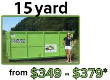 14 yard from $349 - $379*